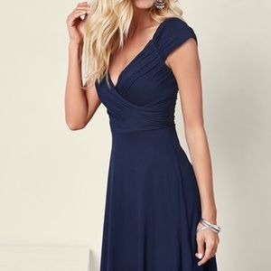 Venus draped front dress size M-brand new
